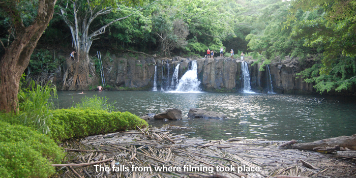 falls filming location